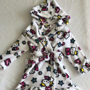 Hello Kitty Child's Size 6  Bathrobe